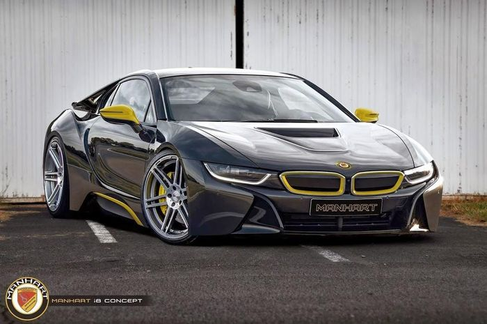 Want A More Extreme Bmw I8 Manhart Has Your Back