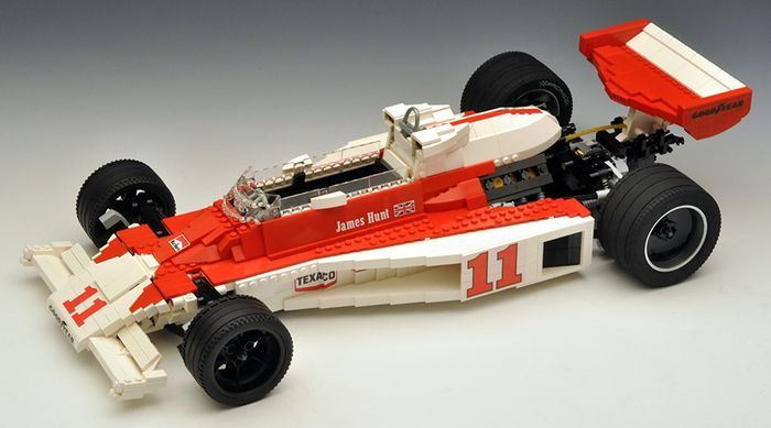 These Lego F1 Cars Are Incredibly Cool And Unbelievably Detailed