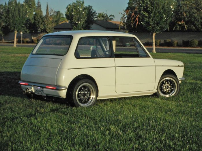 this rear wheel drive honda n600 with a crotch rocket swap. Black Bedroom Furniture Sets. Home Design Ideas