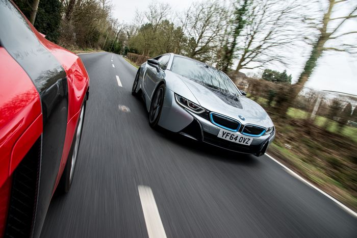 Bmw I8 Vs First Gen Audi R8 Can A Slice Of Future Porn Beat Old