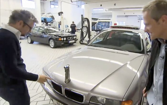 Inside Bmw S Top Secret Car Collection V16 7 Series V12 Z3 And Astonishing Movie Cars