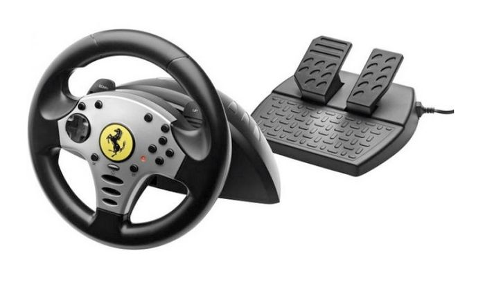 top 10 racing wheels for ultimate simulator control. Black Bedroom Furniture Sets. Home Design Ideas