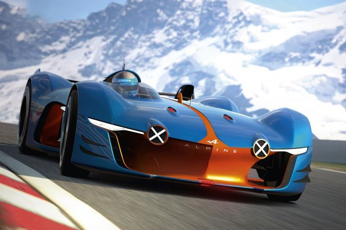 The Alpine Vision Gran Turismo Is A Roofless Race Car You Ll Wish