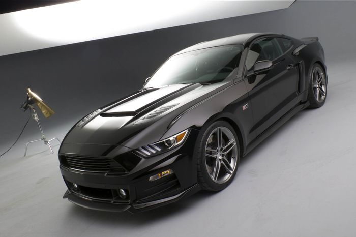 The New Roush Body Package Gives The 2015 Ford Mustang A Massive