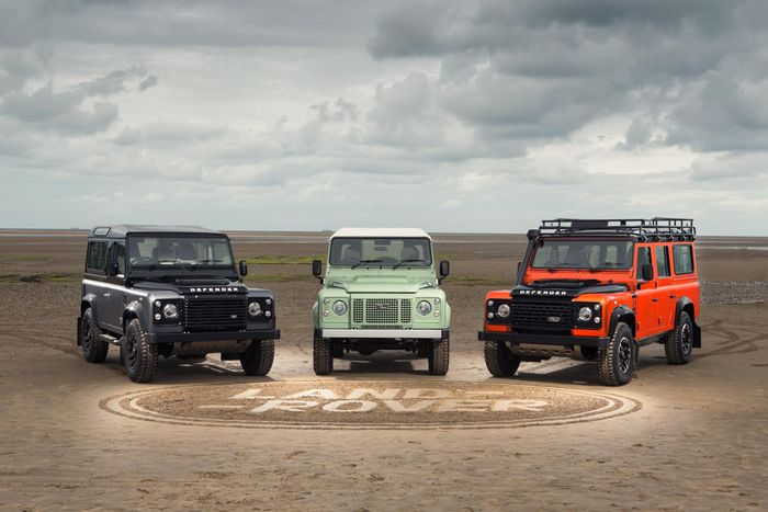 The old Defender bowed out with three special editions