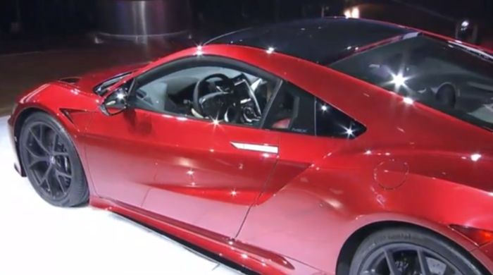 This Is The 2016 Honda NSX