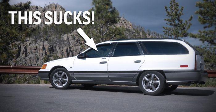 Ford Taurus Wagon Custom >> 3 Reasons Why Owning A Sleeper Car Sucks