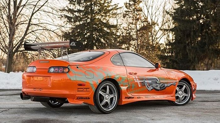 Nows Your Chance To Buy FFs Famous Toyota Supra