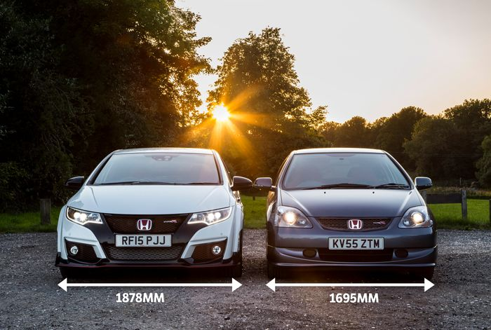 honda civic type r ep3 vs fk2 how much has the game moved on. Black Bedroom Furniture Sets. Home Design Ideas
