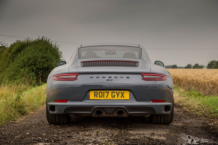 too much tech going on in the current 911 range for your liking the proposed simplified version should be right up your street