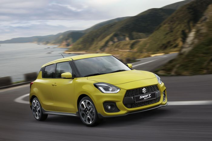 Suzuki Swift Sport breaks cover at Frankfurt