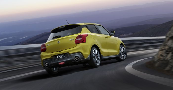 New Suzuki Swift Sport breaks cover at Frankfurt Motor Show
