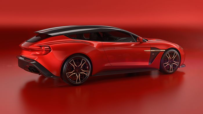 Aston Martin Unveil The Vanquish Zagato Shooting Brake (& It's Not Family Friendly)