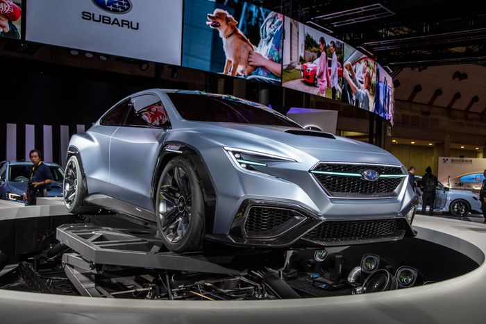Subaru Is Waiting For Market Developments And Has Set The Concept Down We Definitely Do Not Say Goodbye To Wrx Sti Car Belongs