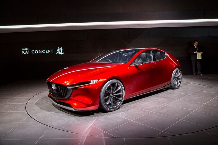 Mazda confirms 2019 Mazda3 for LA debut
