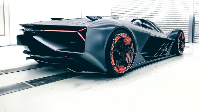 Image result for Lamborghini Terzo Millennio concept electric car