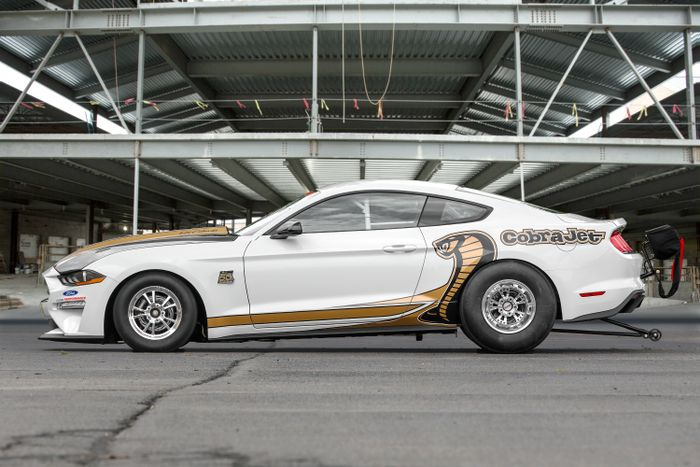 50th Anniversary Cobra Jet Mustang Racer Breaks Cover At Woodward