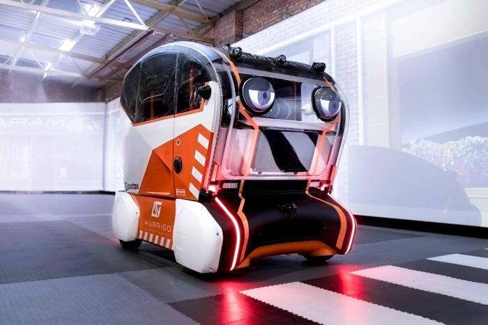 Land Rover Wonders if Autonomous Cars Need Fake Eyes