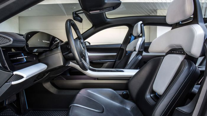 Expect the production version of the Porsche Mission E Cross to have a slightly less radical interior