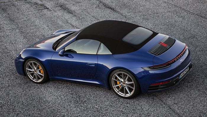 Beat the winter blues with the new Porsche 911 Cabriolet
