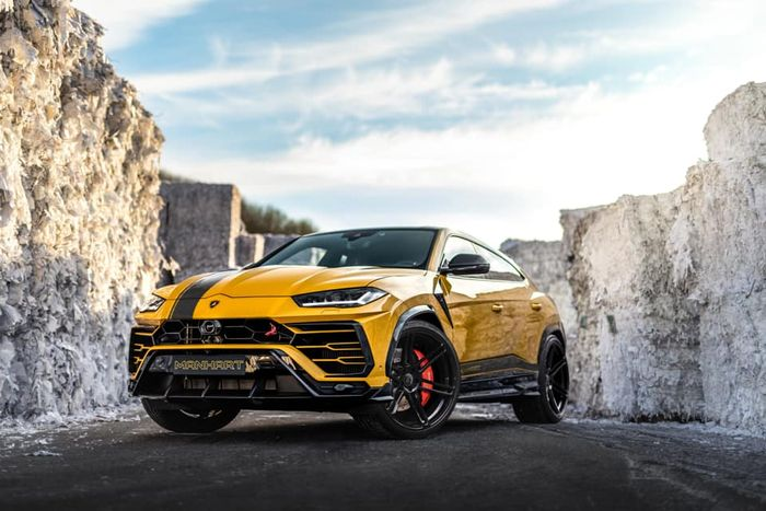 Lamborghini - Manhart's 800bhp Lamborghini Urus Is The Exact Opposite Of Subtle - Tuning