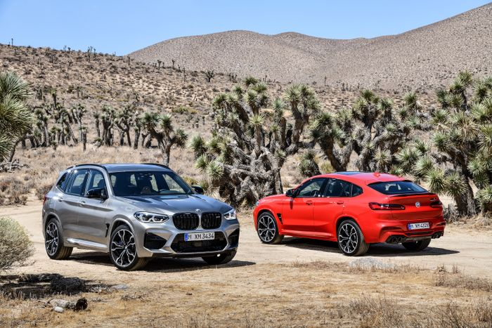 BMW X3 M and X4 M breaks cover with 473bhp