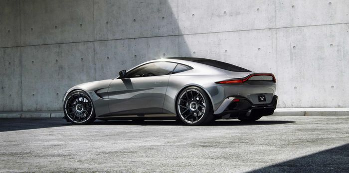German Tuner Pumps Aston Martin Vantage Up To 671bhp