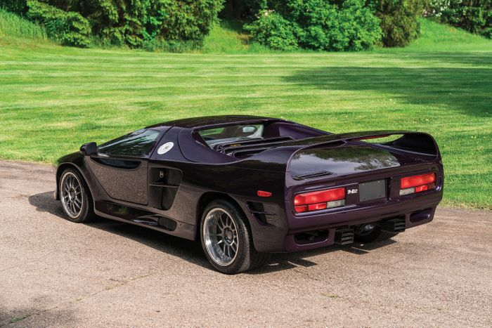Your Chance To Own A Vector M12: A Supercar With The Strangest Backstory