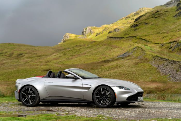 Aston Martin Vantage Roadster Review Better With No Roof
