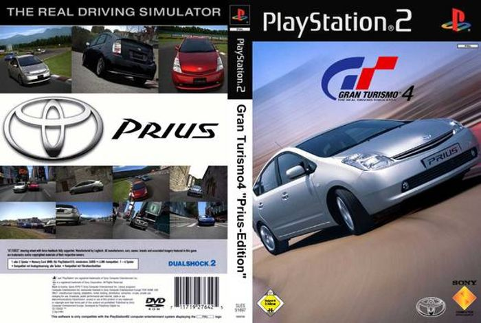 Most Bad Cover Car Ever Gran Turismo 4 Prius Edition Not A Joke It Actually Exists