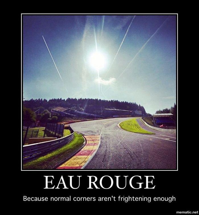 The Fearful Eau Rouge