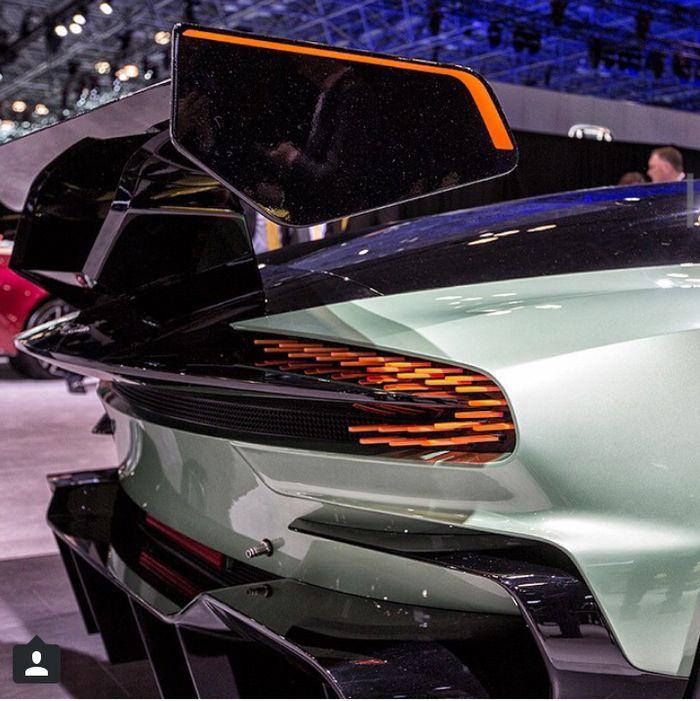 Rear Lights On The Aston Martin Vulcan