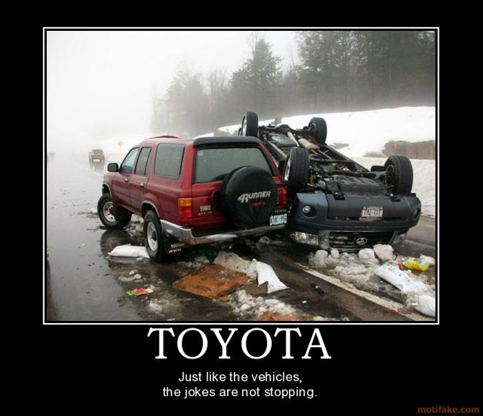 Тойота веселые картинки