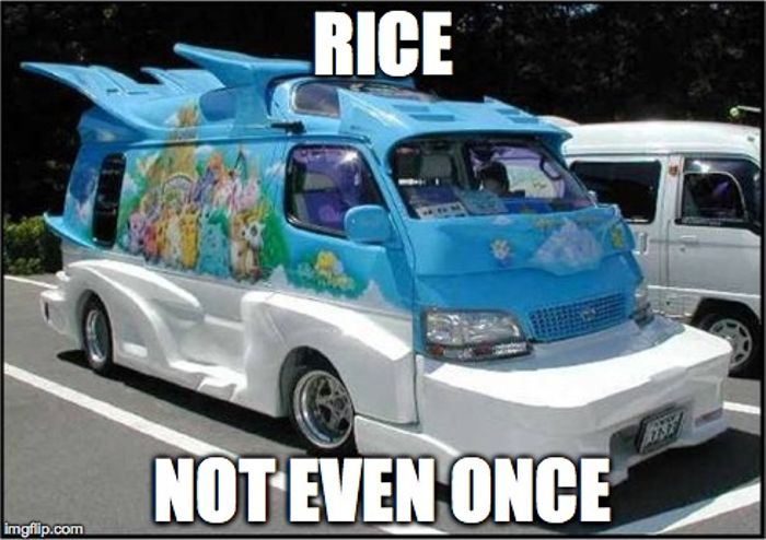 Join Me And Say No To Rice