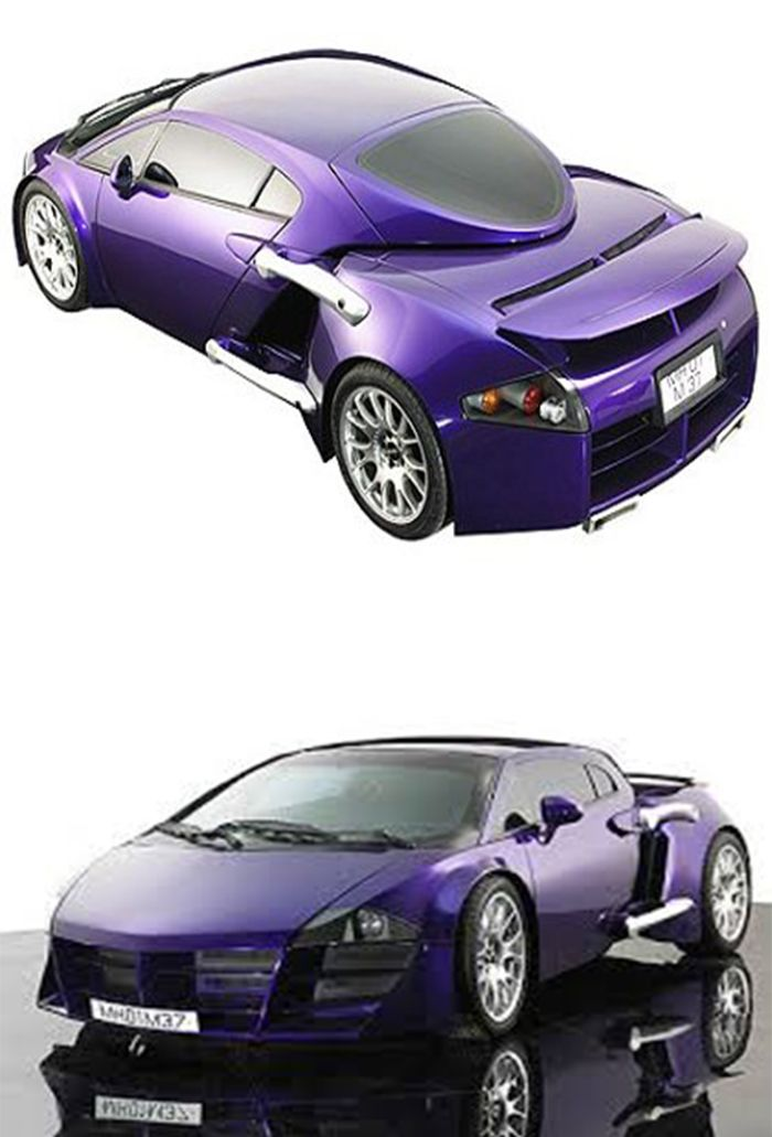 Let Me Present To You Tarzan The Wonder Car Which Never Made It To