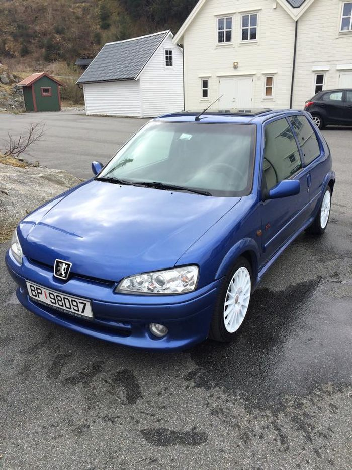 hello ct this is my peugeot 106 gti s16. Black Bedroom Furniture Sets. Home Design Ideas