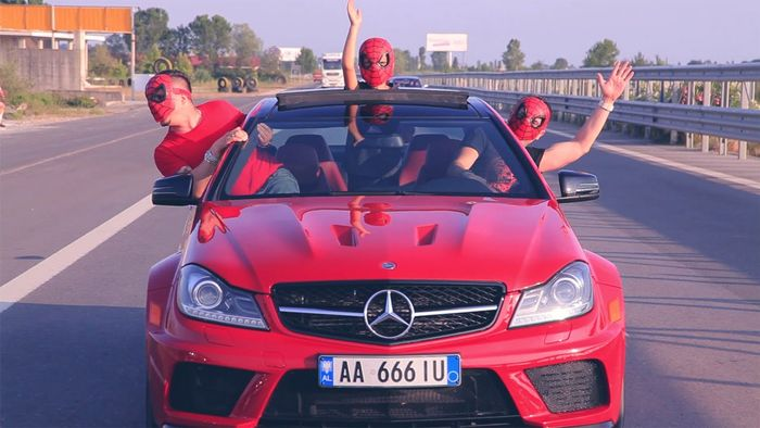 C63 black series in albania for Mercedes benz albania