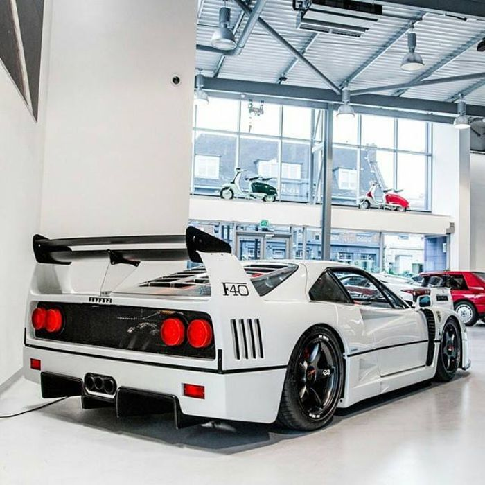 How About A White F40