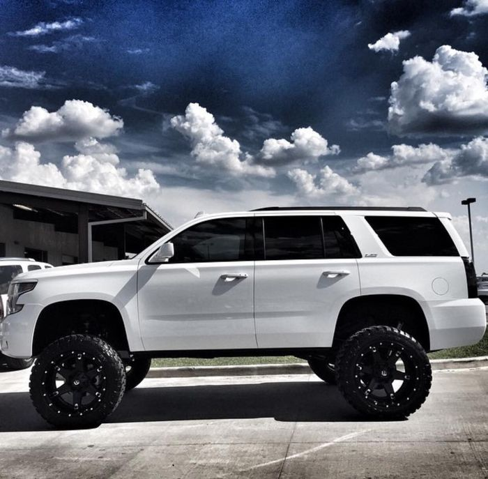 Brand New Lifted Tahoe