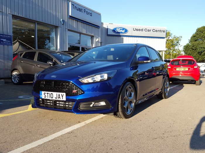 Collected My New Car On Wednesday Focus St 2 Deep Impact