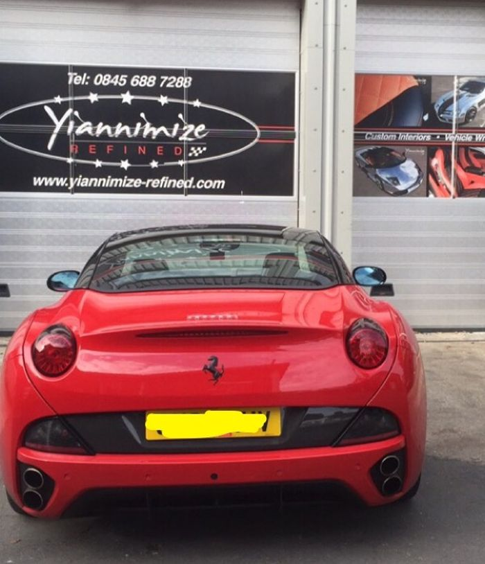 Wrap Time We Booked Our Car Ferrari California In For A Wrap