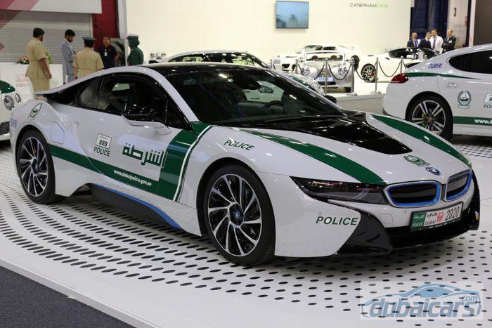 Dubai Police Car At Dubai Motor Show 2015