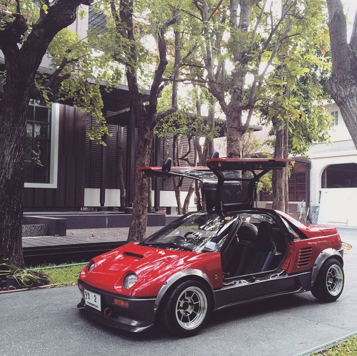 Mazda Autozam Az 1 The Coolest Kei Car In The World