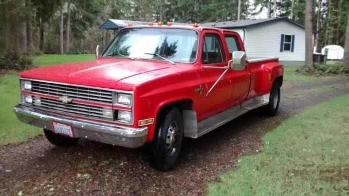 chevy silverado 1986 gas mileage