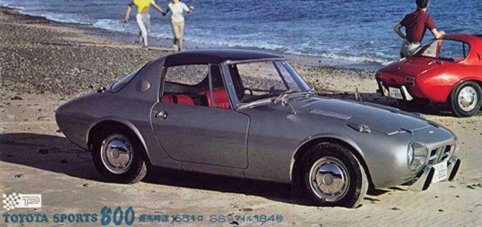 2. Toyota Sports 800