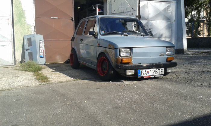 1988 fiat 126p rat for Garage fiat 94