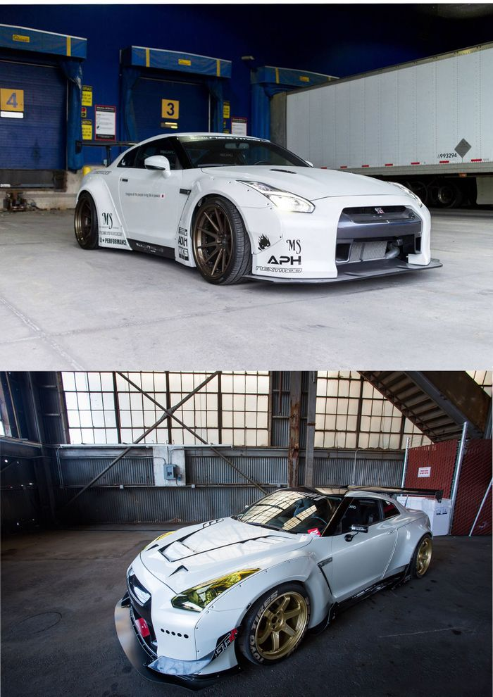 Rocket Bunny or Liberty Walk GTR? - General