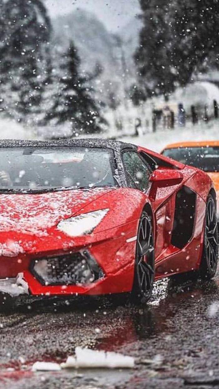 Lamborghini Aventador Mobile Wallpaper