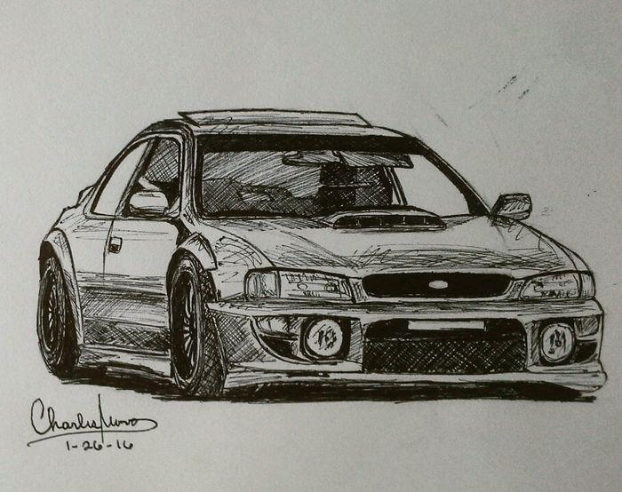 Subaru Impreza WRX STI 22b (with custom body kit)