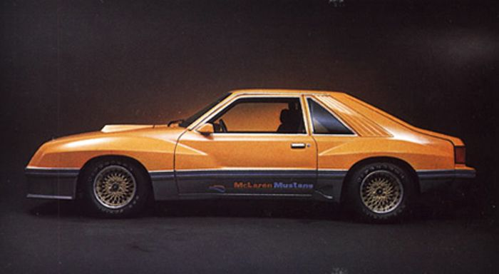 The Ford Mustang Mclaren M81 is one cool pony